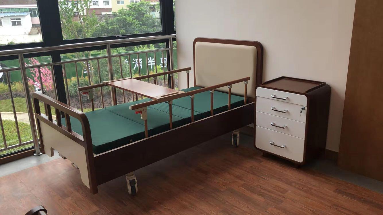 和圆适老化家居护理床-给瘫痪老人更加舒适的晚年